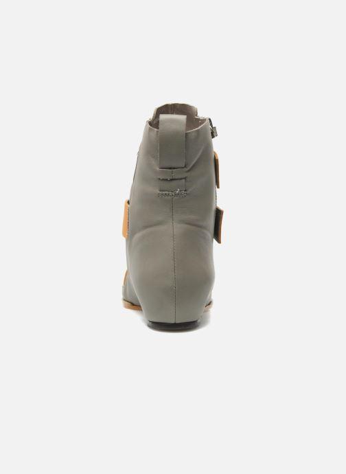Stiefeletten & Boots Skin by Finsk Sadie grau ansicht von rechts