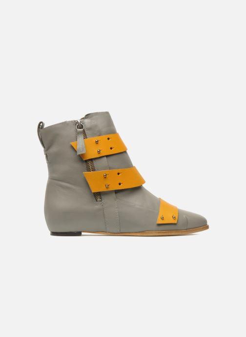 Bottines et boots Skin by Finsk Sadie Gris vue derrière