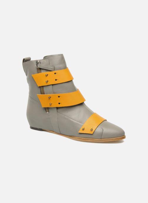 Bottines et boots Skin by Finsk Sadie Gris vue détail/paire