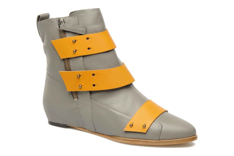 Zapatos de mujer baratos zapatos by de mujer  Skin by zapatos Finsk Sadie (Gris) - Botines  en Más cómodo d0b477