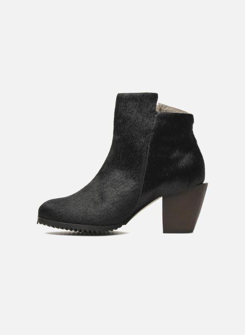 Bottines et boots Skin by Finsk Bunton Noir vue face