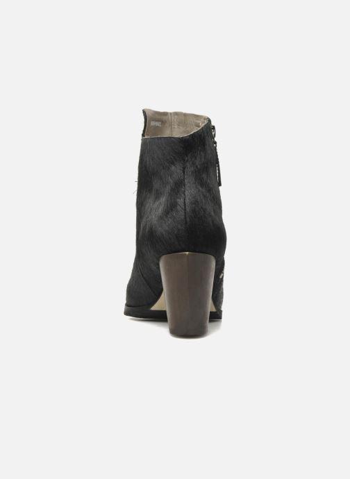 Bottines et boots Skin by Finsk Bunton Noir vue droite