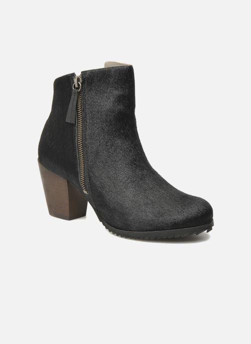 Bottines et boots Skin by Finsk Bunton Noir vue détail/paire