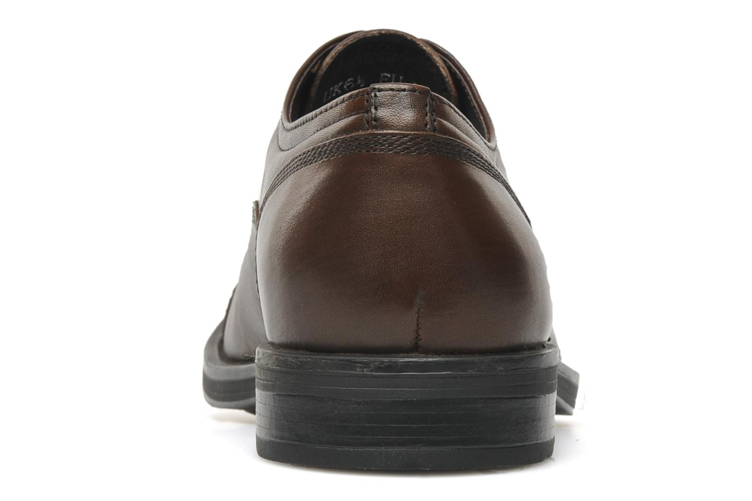 Lace-up shoes Stonefly Class 3 Calf Veg Brown view from the right