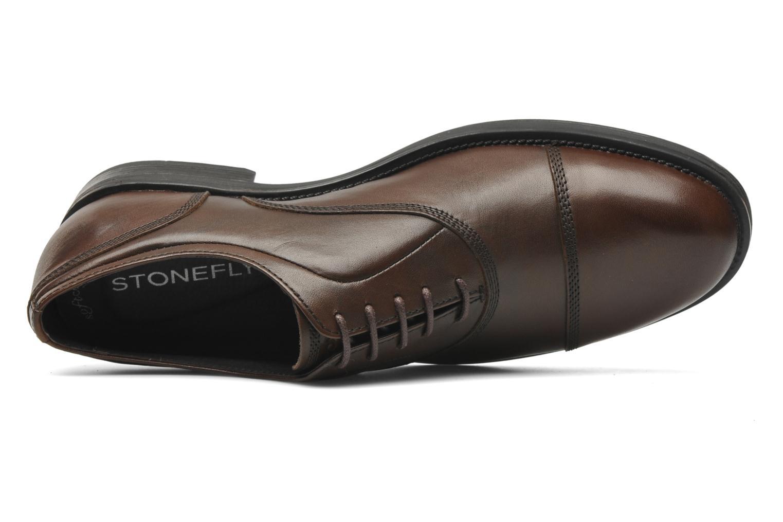 Chaussures à lacets Stonefly Class 3 Calf Veg Marron vue gauche