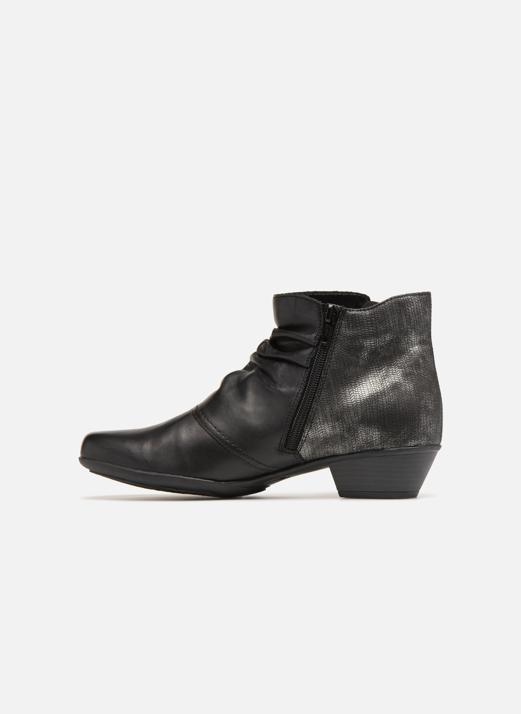 Bottines et boots Remonte Nono D7382 Noir vue face