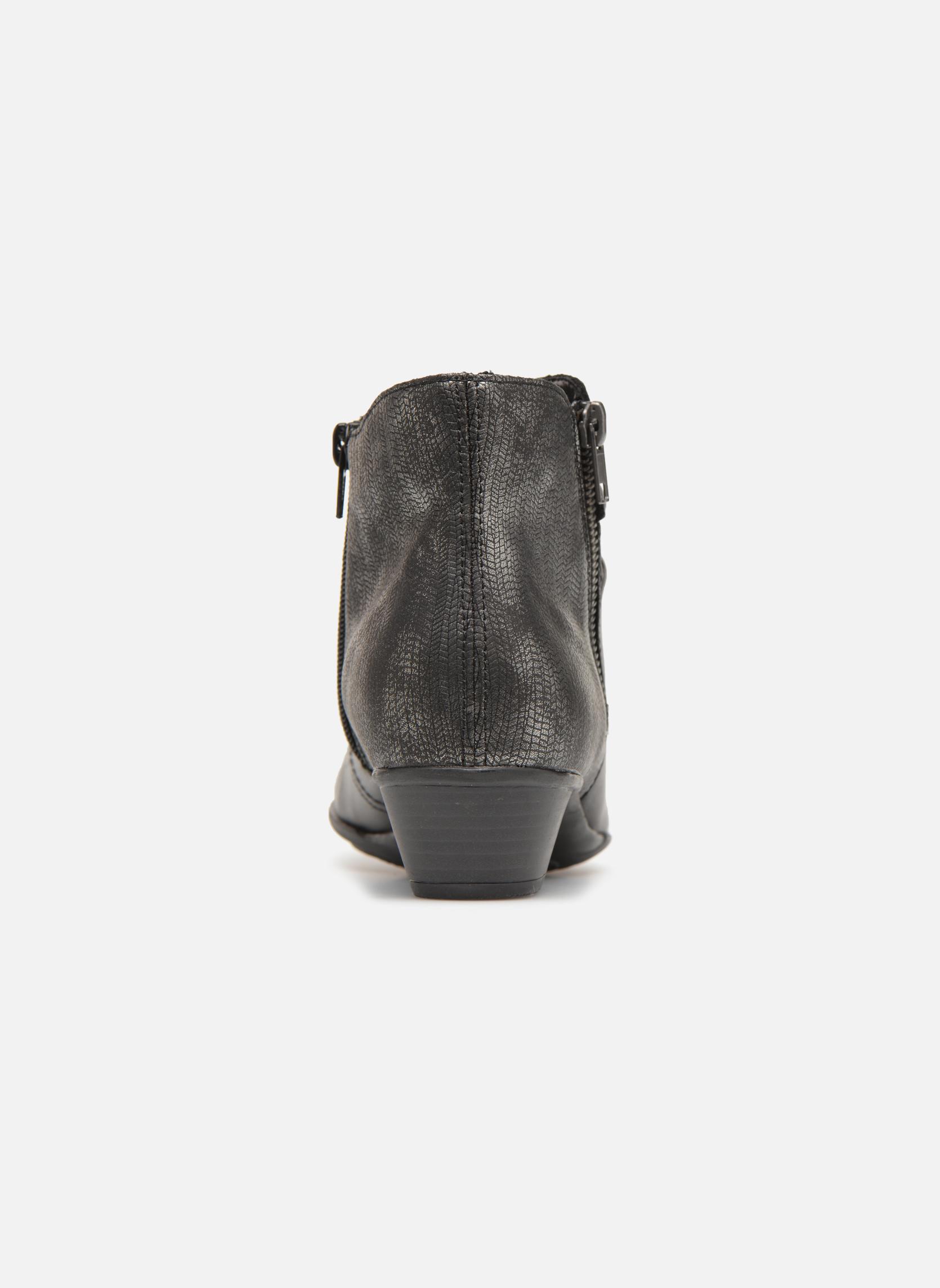 Bottines et boots Remonte Nono D7382 Noir vue droite