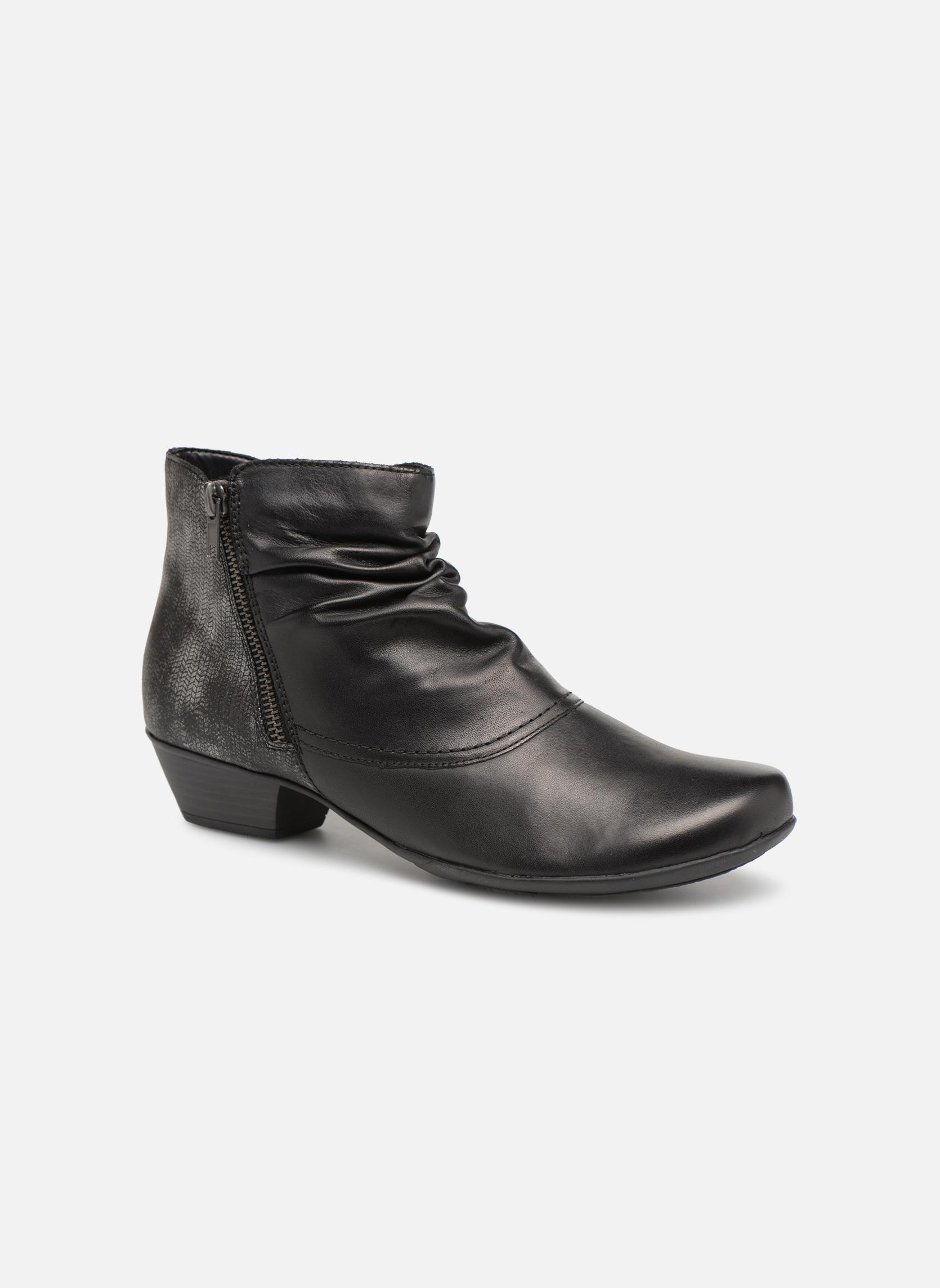 Bottines et boots Remonte Nono D7382 Noir vue détail/paire