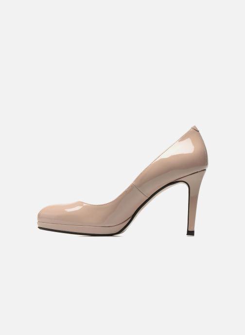 Zapatos de tacón Georgia Rose Serverne Beige vista de frente