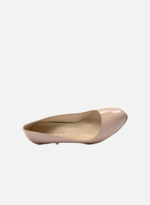 High heels Georgia Rose Serverne Beige view from the left