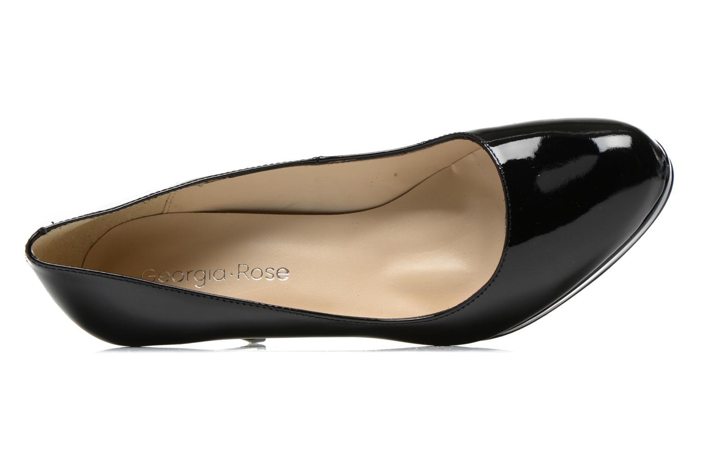 Zapatos de tacón Georgia Rose Serverne Negro vista lateral izquierda