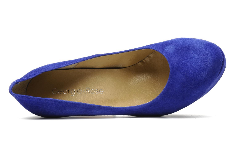 High heels Georgia Rose Vertige Blue view from the left