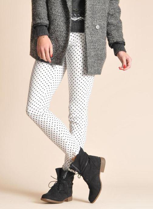 Stiefeletten & Boots I Love Shoes Thableau schwarz ansicht von unten / tasche getragen