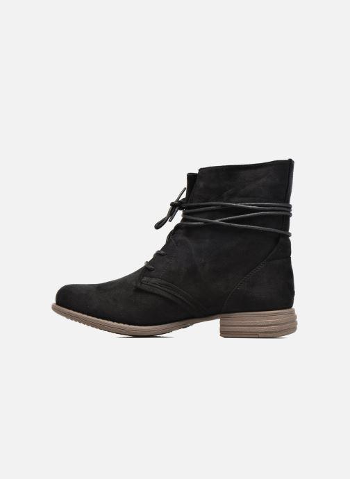 Ankle boots I Love Shoes Thableau Black front view