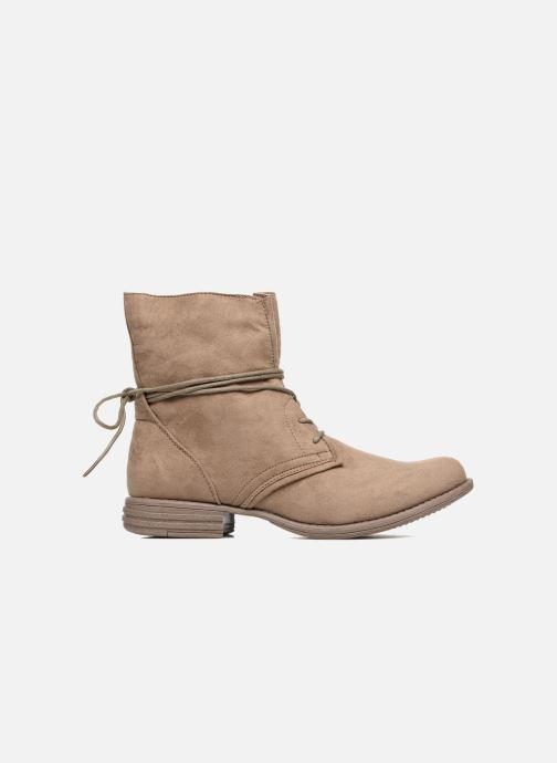 Ankle boots I Love Shoes Thableau Beige back view