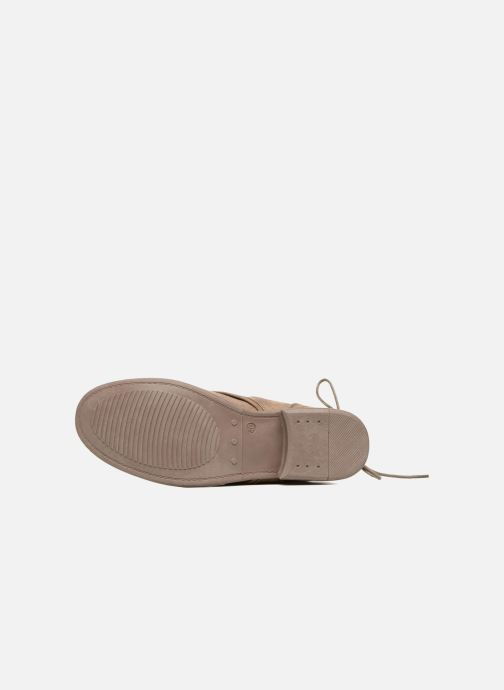 Ankle boots I Love Shoes Thableau Beige view from above