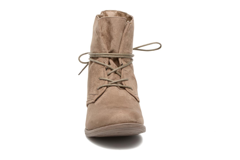 Bottines et boots I Love Shoes Thableau Beige vue portées chaussures