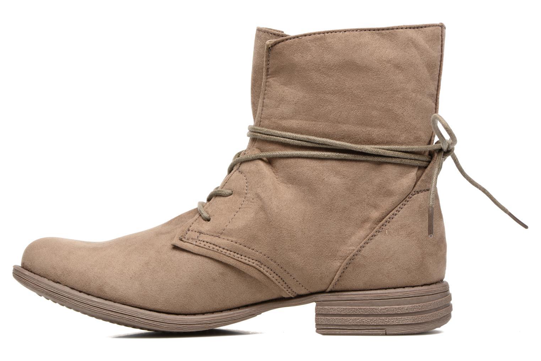 Bottines et boots I Love Shoes Thableau Beige vue face