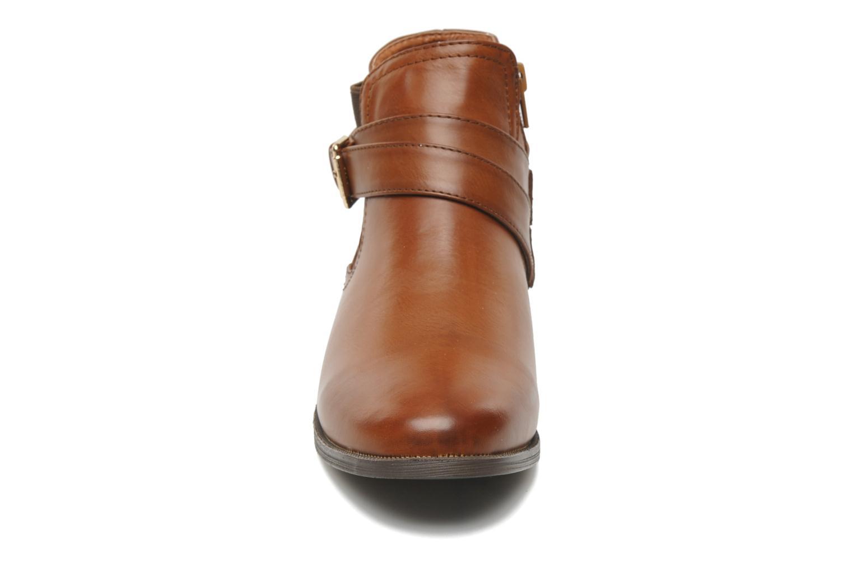 Bottines et boots I Love Shoes Thanche Marron vue portées chaussures