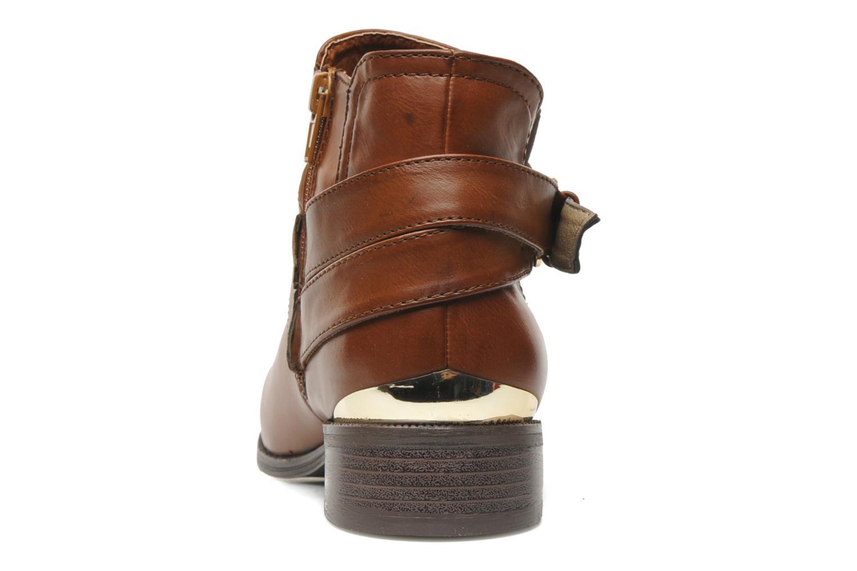 Bottines et boots I Love Shoes Thanche Marron vue droite