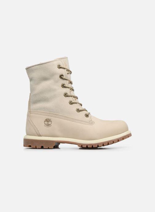 Stiefeletten & Boots Timberland Authentics Teddy Fleece WP Fold Down weiß ansicht von hinten