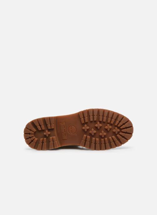 Stiefeletten & Boots Timberland Authentics Teddy Fleece WP Fold Down weiß ansicht von oben