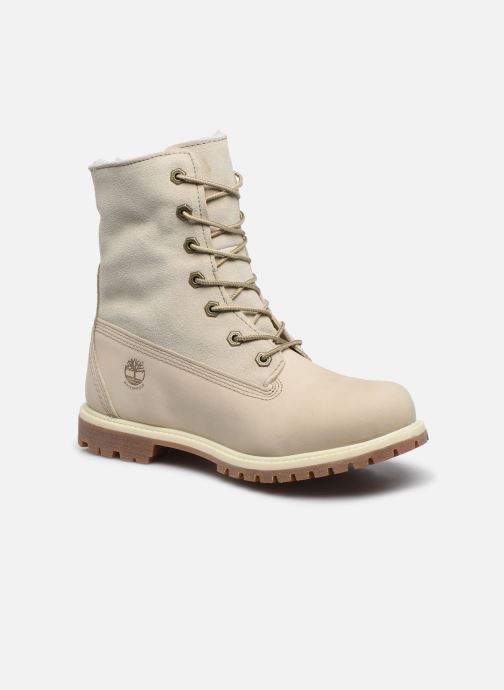 Boots en enkellaarsjes Timberland Authentics Teddy Fleece WP Fold Down Wit detail