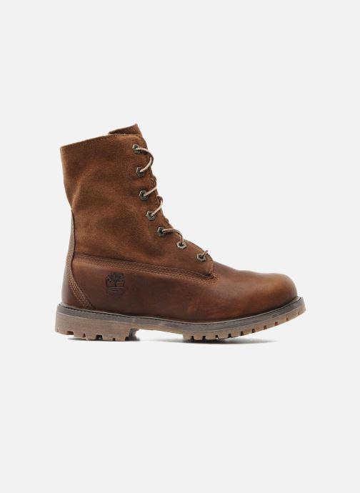 Stiefeletten & Boots Timberland Authentics Teddy Fleece WP Fold Down braun ansicht von hinten