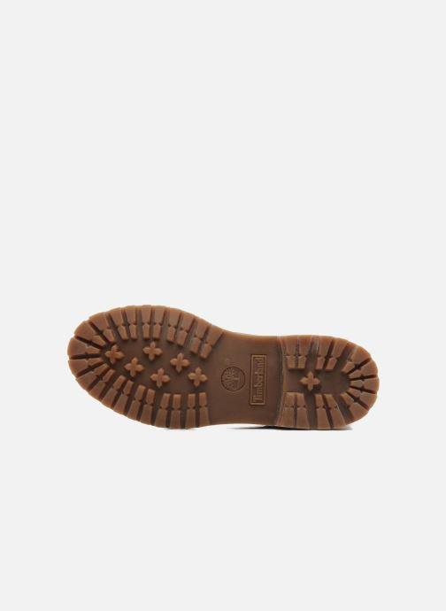 Bottines et boots Timberland Authentics Teddy Fleece WP Fold Down Marron vue haut