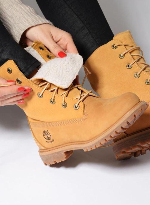 Boots en enkellaarsjes Timberland Authentics Teddy Fleece WP Fold Down Bruin onder