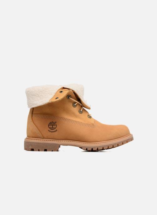 Boots en enkellaarsjes Timberland Authentics Teddy Fleece WP Fold Down Bruin achterkant