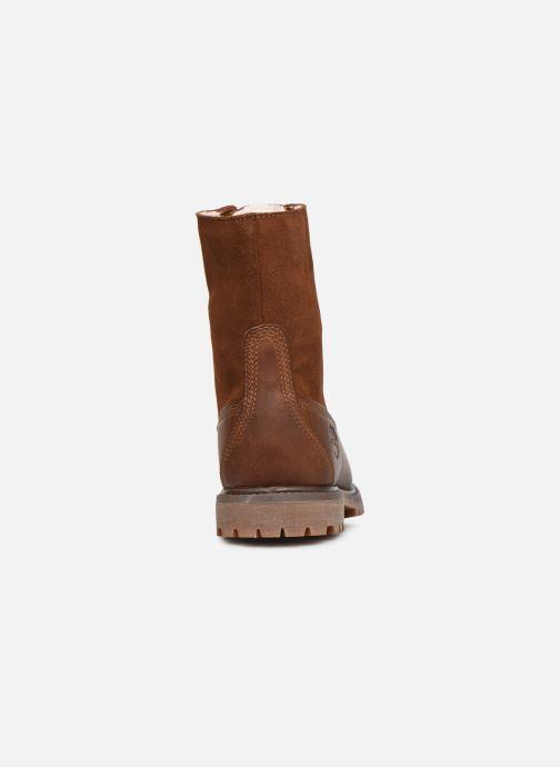 Stiefeletten & Boots Timberland Authentics Teddy Fleece WP Fold Down braun ansicht von rechts