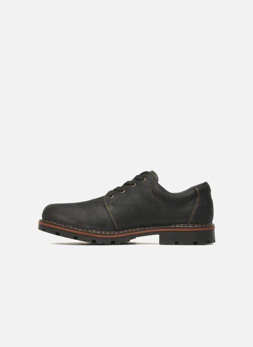 Lace-up shoes Rieker Triol 17710 Black front view