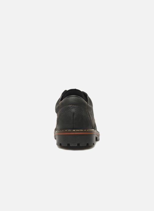 Scarpe con lacci Rieker Triol 17710 Nero immagine destra