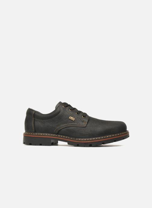 Lace-up shoes Rieker Triol 17710 Black back view