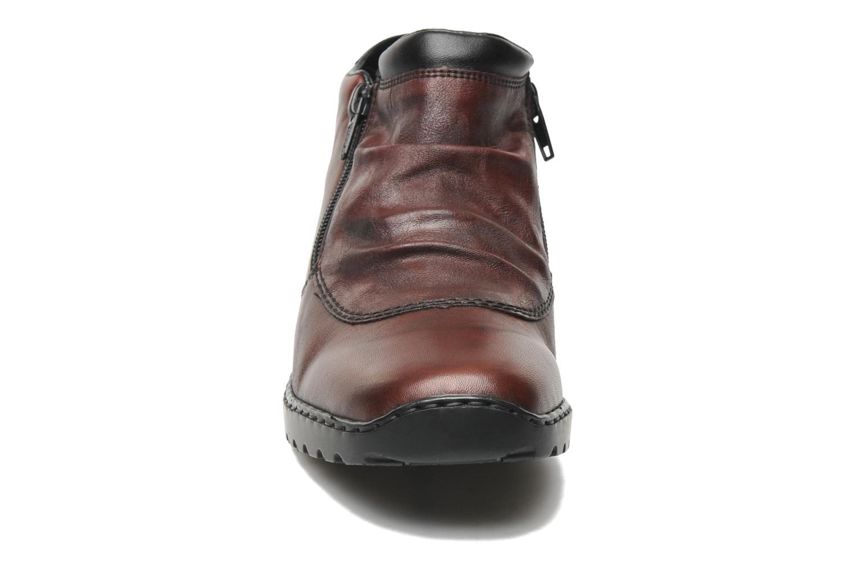 Bottines et boots Rieker Torti L6052 Bordeaux vue portées chaussures
