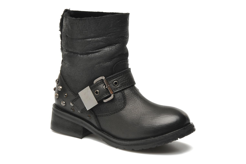 Boots en enkellaarsjes Lola Cruz Yoni Zwart detail