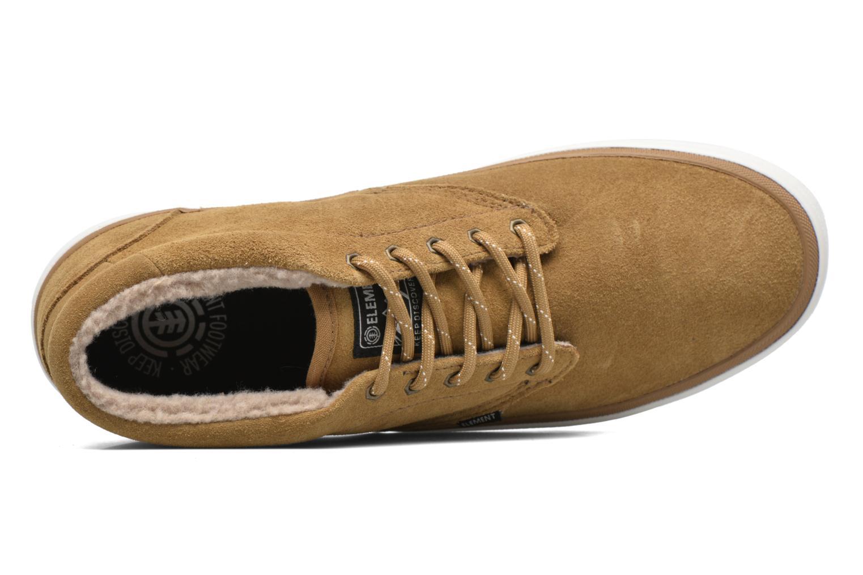 Chaussures de sport Element Preston Marron vue gauche