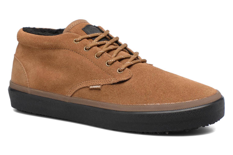 Sportssko Element Preston Brun detaljeret billede af skoene