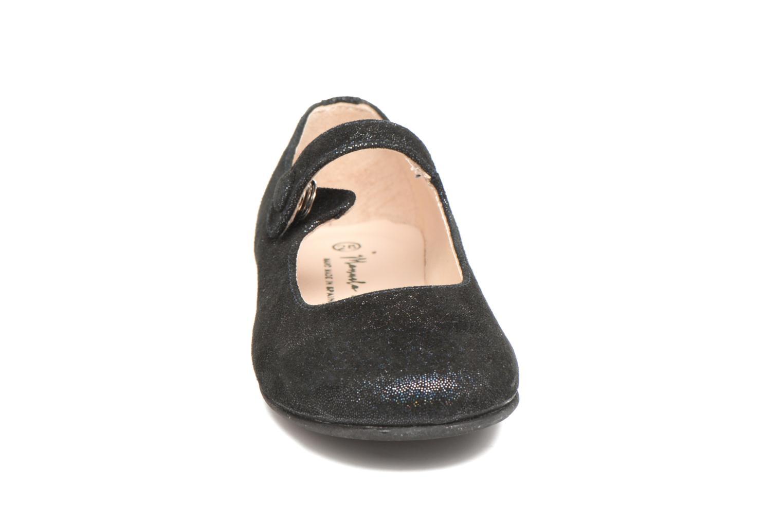 Ballet pumps Manuela de Juan Mimi Black model view