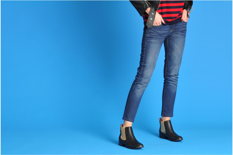 Botines  Pepe jeans Columbia Oro y bronce vista de abajo