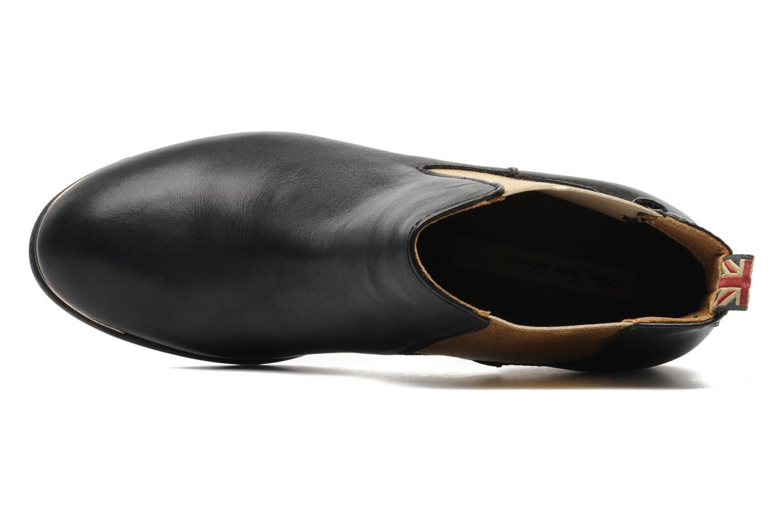 Botines  Pepe jeans Columbia Oro y bronce vista lateral izquierda