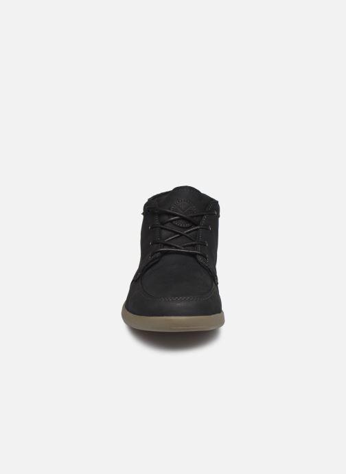 Baskets Reef Reef Spiniker Mid NB Noir vue portées chaussures