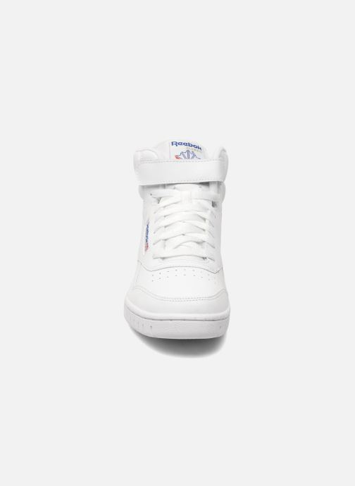 Sneakers Reebok Ex-O-Fit Hi Bianco modello indossato