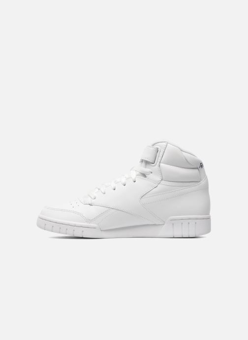Baskets Reebok Ex-O-Fit Hi Blanc vue face