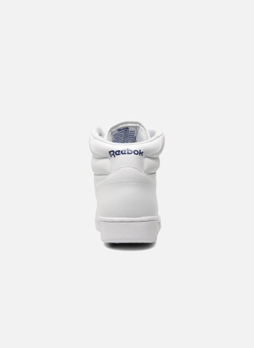 Trainers Reebok Ex-O-Fit Hi White view from the right