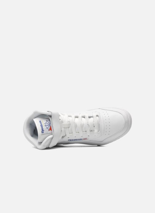 Trainers Reebok Ex-O-Fit Hi White view from the left