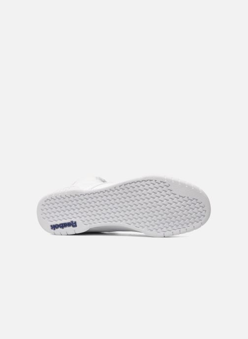 Sneakers Reebok Ex-O-Fit Hi Bianco immagine dall'alto