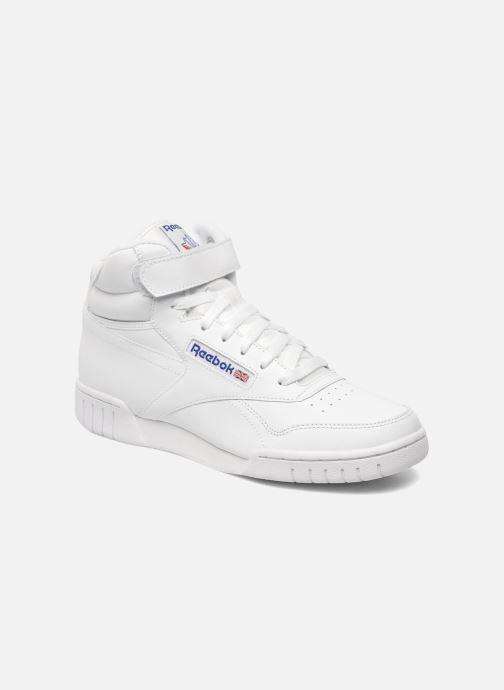 Baskets Reebok Ex-O-Fit Hi Blanc vue détail/paire