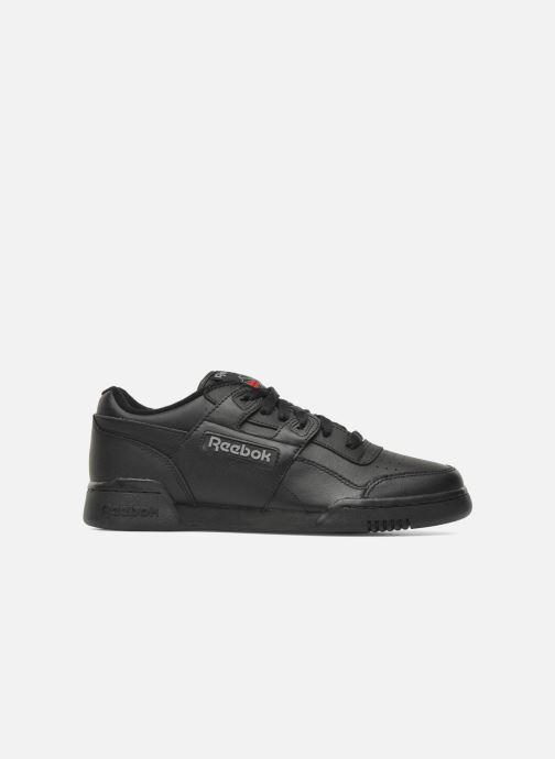 Sneaker Reebok Workout Plus schwarz ansicht von hinten